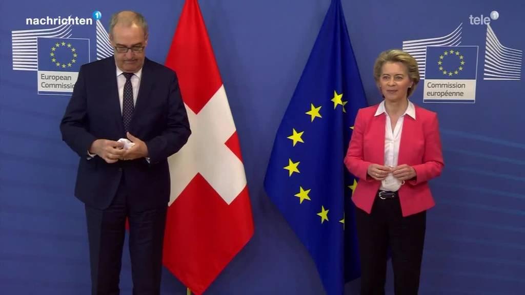 Ergebnis Verhandlungen zum Rahmenabkommen mit der EU