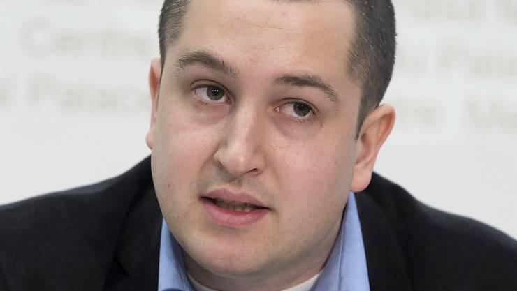 Der Präsident der Jungen SVP Schweiz, Anian Liebrand, will ein Urteil wegen übler Nachrede nicht auf sich sitzen lassen.