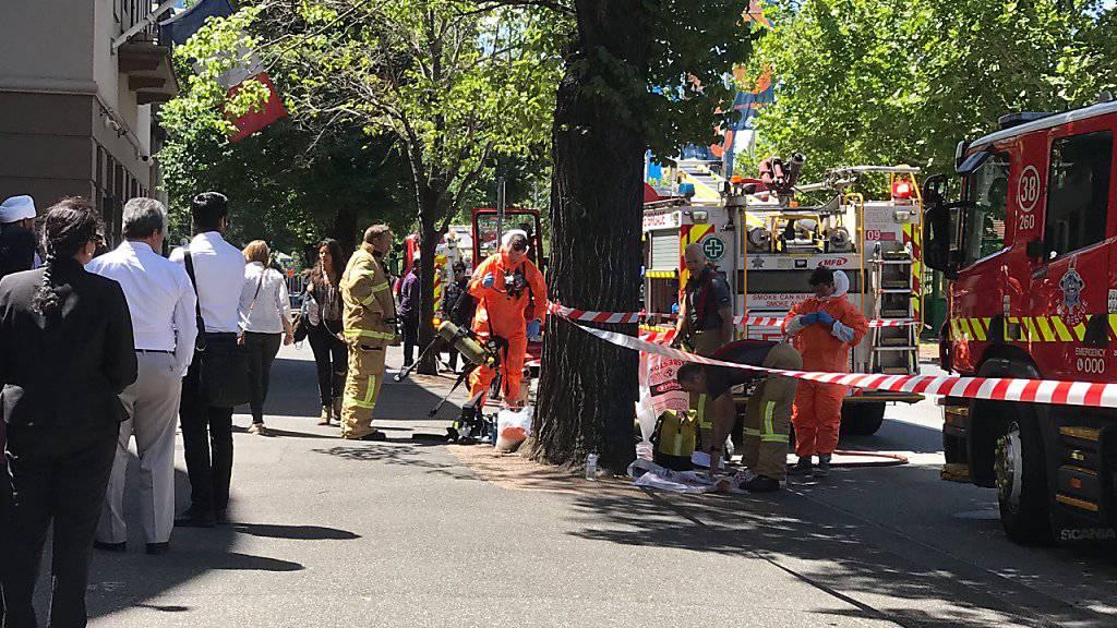 Aufgrund von verdächtigen Postsendungen wurden am Mittwoch das indische Konsulat im australischen Melbourne geschlossen.