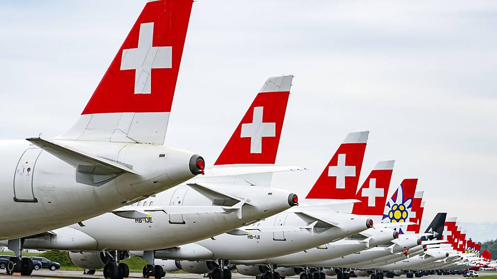 Die Fluggesellschaft Swiss fährt derzeit ihre Kapazitäten wieder hoch. (Archivbild)