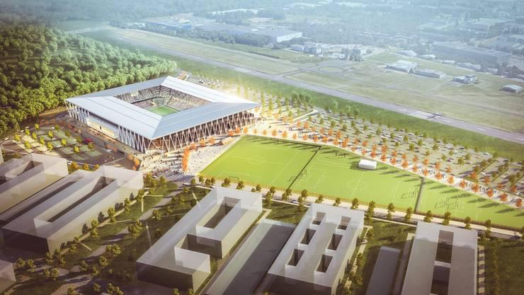 Das neue Stadion des SC Freiburg: Anwohner hatten gegen den anstehenden Lärm Beschwerden eingereicht