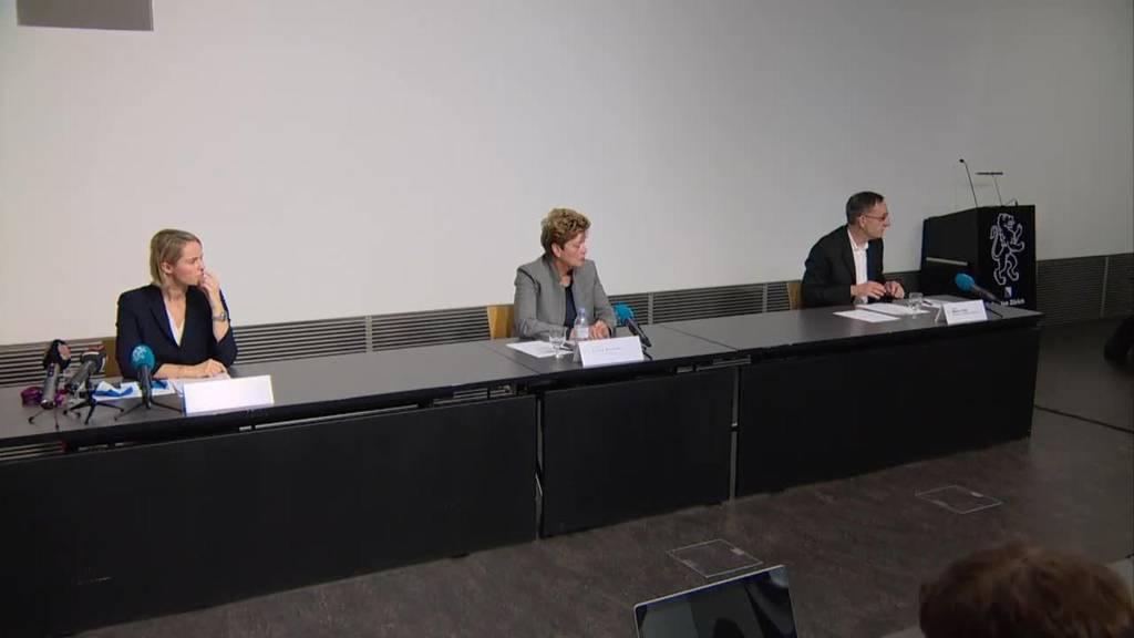 Komplette Medienkonferenz des Zürcher Regierungsrates vom 23. Oktober 2020