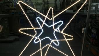Letztes Jahr mussten die Sterne Mitte Dezember demontiert werden. ZVG