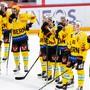 Werden bis auf Weiteres nicht mehr Eishockey Spielen: Die Spieler des SC Bern.