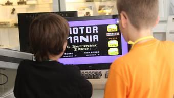 Sonderausstellung zum Commodore 64 im Museum Enter