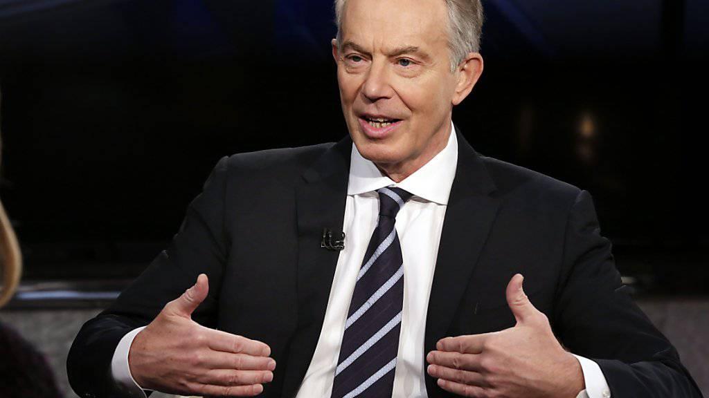 Der ehemalige britische Premierminister Tony Blair hat im Kampf gegen den Brexit eine neue Aufgabe gefunden. (Archivbild)