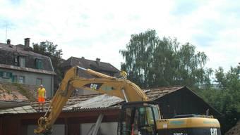 Baubeginn: Das Schlieremer Zentrum wird in den nächsten Jahren umgestaltet. dvk