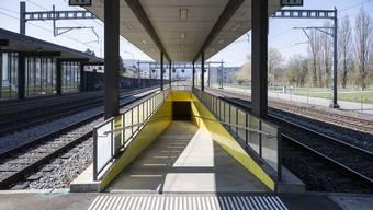 Verlängerung Unterführung Bahnhof Glanzenberg