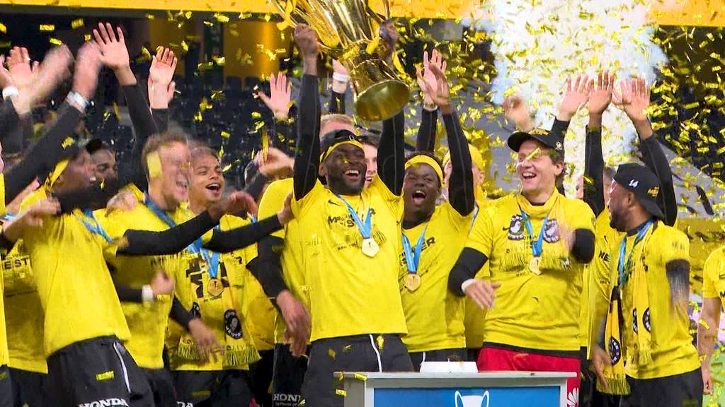 Geyoungboyst: Nach dem 3:1-Sieg gegen St. Gallen gibts den Pokal