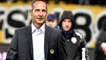 Adi Hütter soll sein Team im Cup möglichst weit bringen, sehnen sich die Berner doch nach einem Titel.