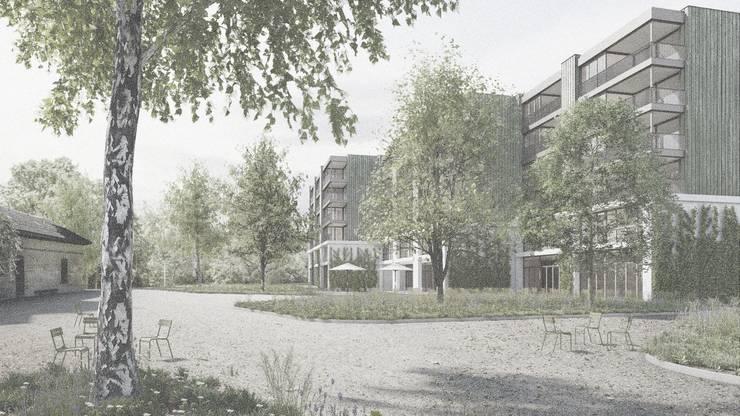 So soll das neue Schlieremer Alterszentrum dereinst aussehen.