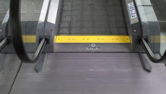 Eine Rolltreppe von Schindler in Zürich