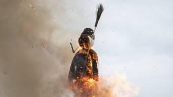 Die Verbrennung des Bööggs auf dem Sechseläutenplatz fällt wohl dem Corona-Virus zum Opfer.  (Archivbild)