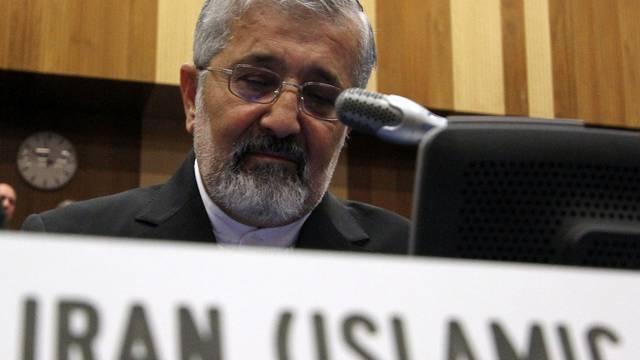 Meinungsverschiedenheiten ausgeräumt: Irans IAEA-Botschafter Ali Asghar Soltanieh (Archiv)