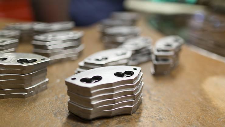 Die Solothurner Metallindustrie boomt. (Symbolbild)