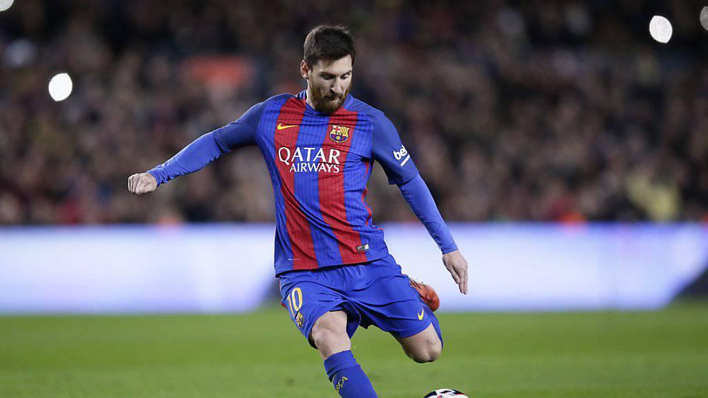 Lionel Messi steht mit dem FC Barcelona vor einer Vertragsverlängerung