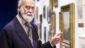 """""""Sie war eine talentierte Malerin"""": Prinz Michael of Kent spricht über seine Ururgrossmutter Victoria anlässlich einer Ausstellung im historischen Museum Luzern über einen Besuch der britischen Herrscherin von 150 Jahren."""