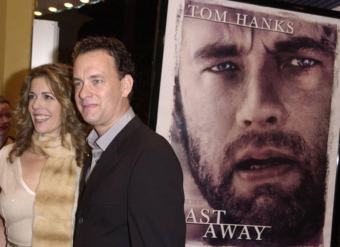 Tom Hanks spielte in Cast Away die Hauprolle. (Bild: Getty Images)