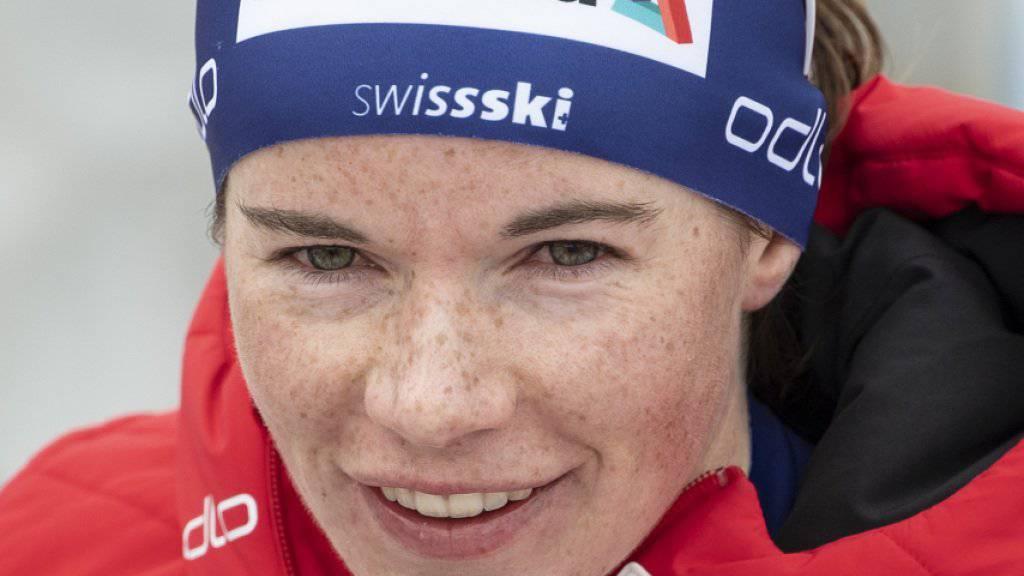 Nathalie von Siebenthal macht einen Abstecher zum Berglauf