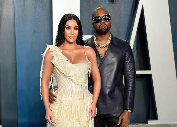 Das Power-Paar: Kim Kardashian West mit ihrem Ehemann  Kayne West, der vorübergehend  amerikanischer Präsident werden wollte.