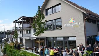 Einweihung und Besichtigung Kindergarten/Alterswohnungen Lieli