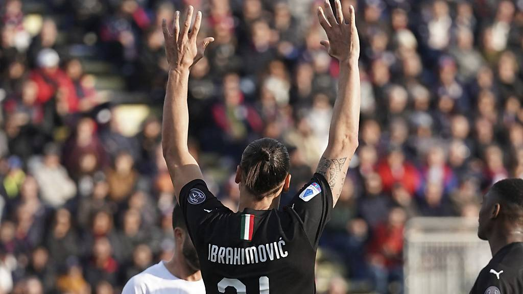Ibrahimovic trifft bei Milans Sieg in Cagliari