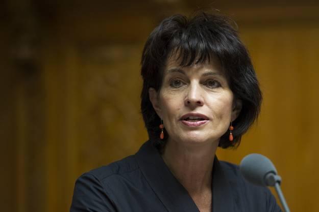 «Die erste Grossratspräsidentin Elisabeth Schmid hat bewiesen, dass Frauen ein Platz in der Politik zusteht.»