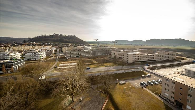 Die Erschliessung des neuen Quartiers «Esterli-Flöösch» kostete 7,1 Mio. Franken.