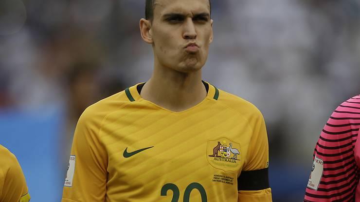 Trent Sainsbury bestritt für die Australier die WM-Playoffs gegen Honduras