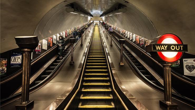 Führt die britische Rolltreppe für die EU hinauf oder hinunter?Getty Images