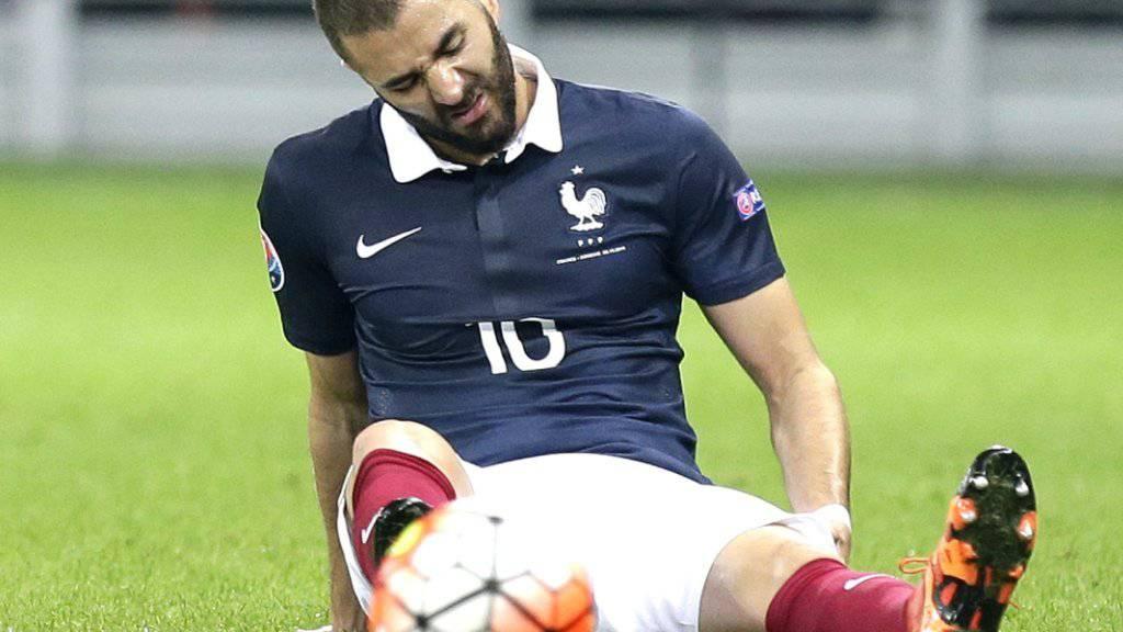 Frankreichs Stürmer Karim Benzema gerät ins Visier der Justiz