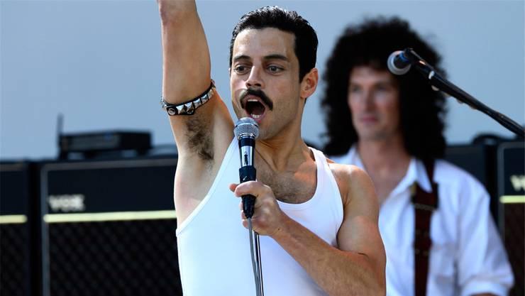 Rami Malek als Freddie Mercury: Nach langem Hin und Her erhielt er schliesslich die Hauptrolle.20th Century Fox/New Regency