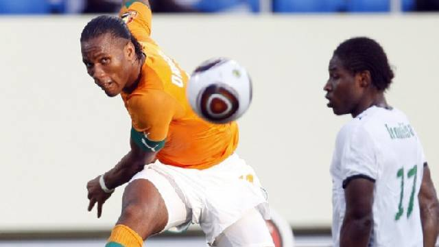 Didier Drogba ohne Abschlussglück