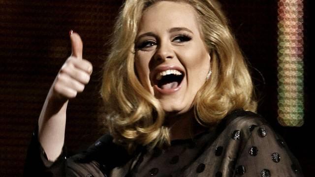Die britische Sängerin Adele (Archiv)