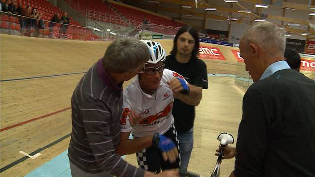 René Schiegg verpasst Weltrekord