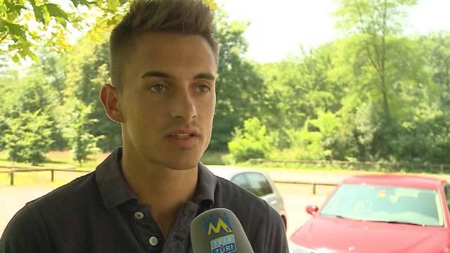 Joël Mall verabschiedet sich vom FC Aarau