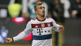 Xherdan Shaqiri im Bayern-Dress - ist das bald Vergangenheit?