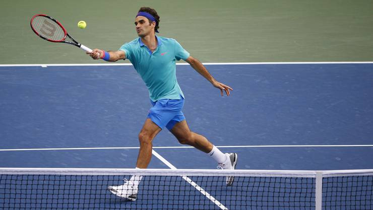 Federer hatte kaum eine Chance gegen den Kroaten