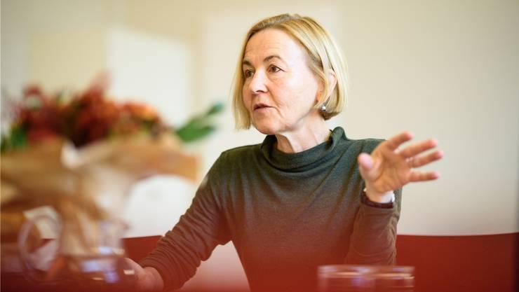 Die Gesundheitsdirektorin Susanne Schaffner appelliert an die Eigenverantwortung.