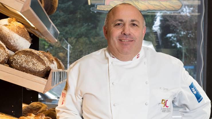 Pierluigi Ghitti, Inhaber der Bäckerei «Spitzbueb».