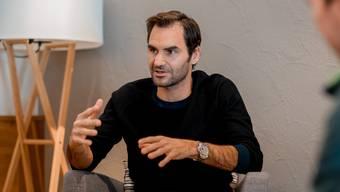 Freude und Leidenschaft seien das Erfolgsrezept für seinen lang anhaltenden Erfolg, sagt Roger Federer.