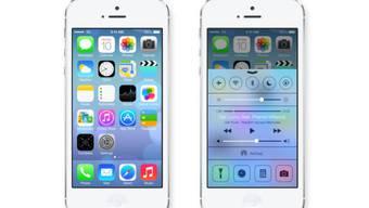 Ein erster Blick auf Apple iOS 7