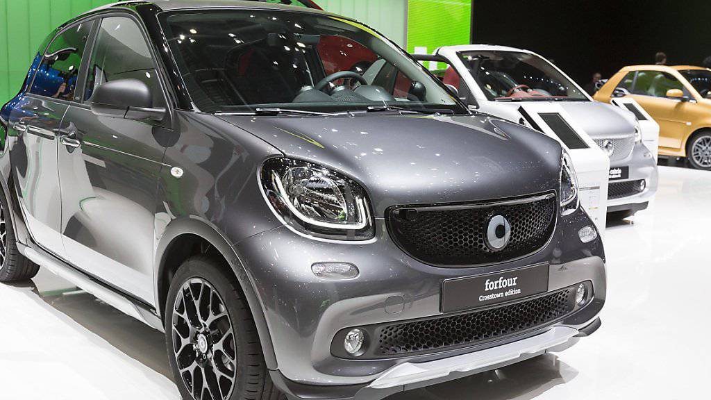 Der Smart soll ab 2020 nur noch als Elektroauto verkauft werden. (Archiv)