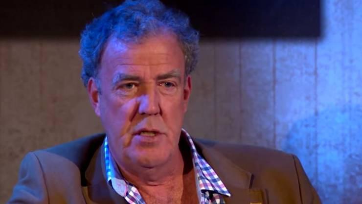 Jeremy Clarkson ausser Gefecht gesetzt.