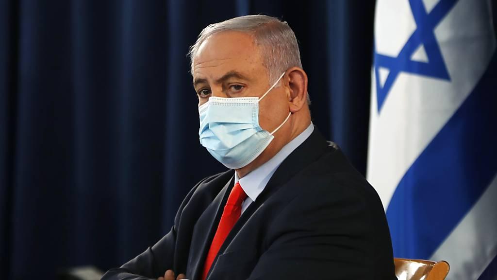 Netanjahu wirbt bei Treffen mit Siedlern für Trump-Plan