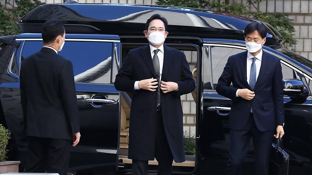 Ankläger fordern neun Jahre Haft für Samsung-Erben wegen Korruption