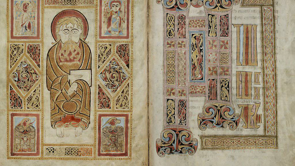 Irische Hochkultur in St. Galler Stiftsbibliothek