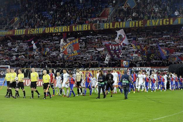 Rund 15000 Zuschauer verfolgten das Rückspiel in Basel