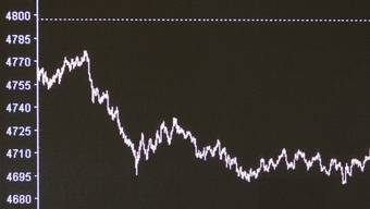 Die Schweizer Börse sackte ab (Archiv)