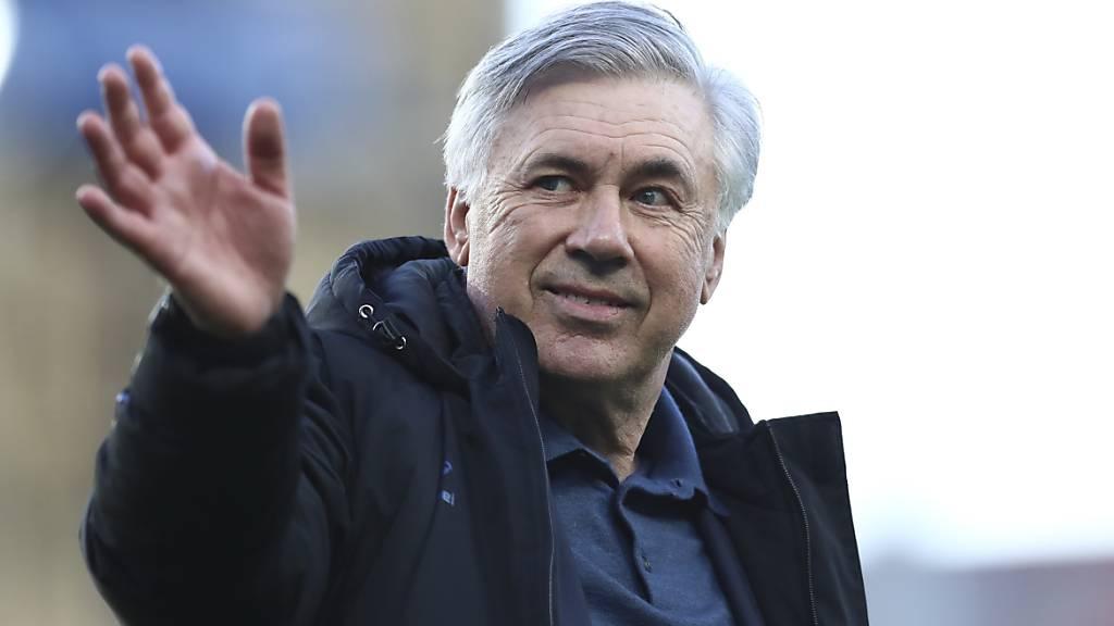 Von Everton zurück zu Real: Carlo Ancelotti löst in Madrid Zinédine Zidane als Trainer ab
